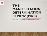 The Manifestation Determination Review: Essential Points for Educators (SD22-007)
