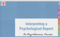 How to Interpret a Psychological Report (SD22-008)